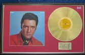 Elvis Presley - 24 Carat Gold Disc and Cover - Gold Records Volume 2